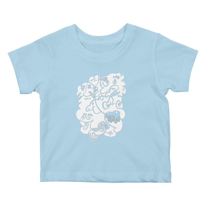Just another doodle Kids Baby T-Shirt by Favati