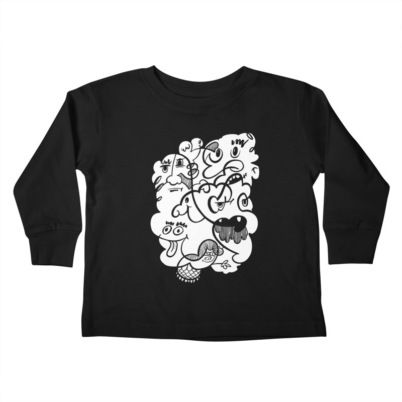 Just another doodle Kids Toddler Longsleeve T-Shirt by Favati