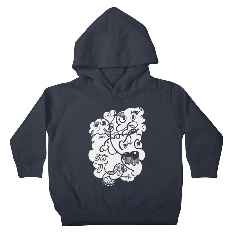 Just another doodle Kids Toddler Pullover Hoody by Favati