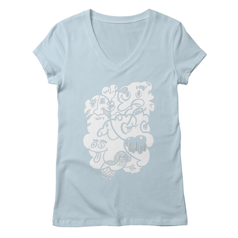 Just another doodle Women's Regular V-Neck by Favati