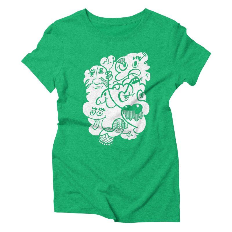 Just another doodle Women's Triblend T-Shirt by Favati