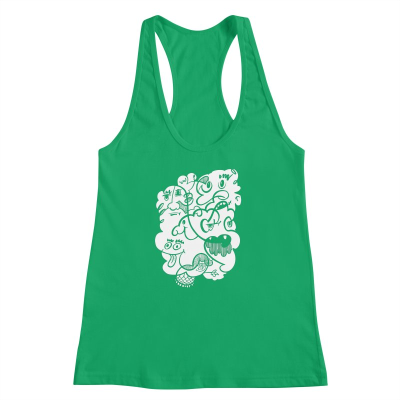 Just another doodle Women's Racerback Tank by Favati