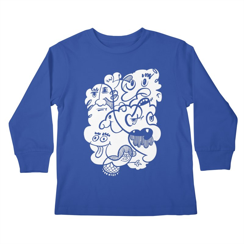 Just another doodle Kids Longsleeve T-Shirt by Favati