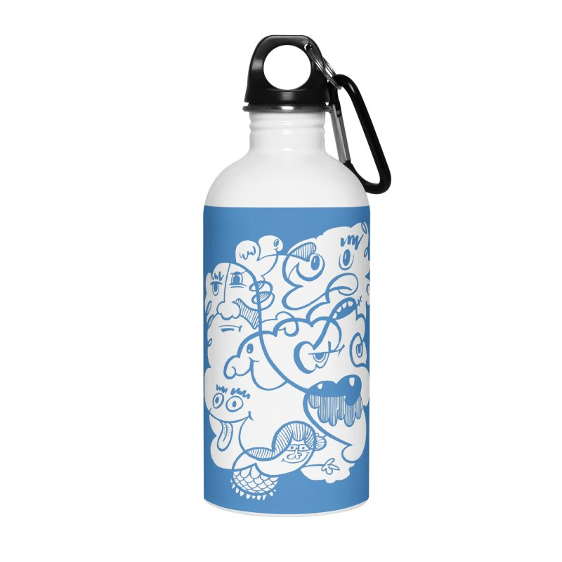 Just another doodle Accessories Water Bottle by Favati
