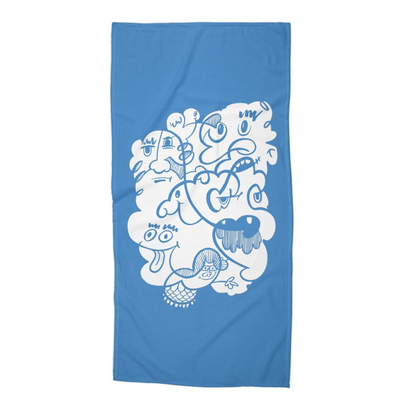 Just another doodle Accessories Beach Towel by Favati