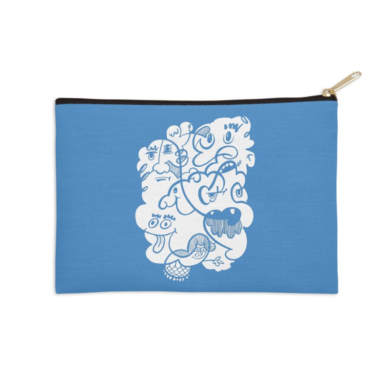 Just another doodle Accessories Zip Pouch by Favati