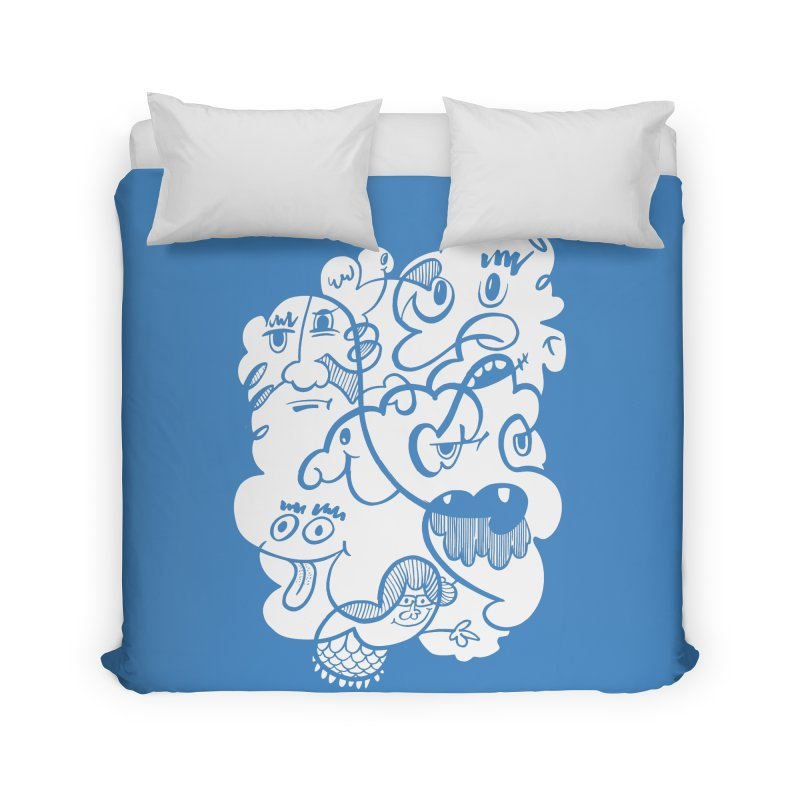 Just another doodle Home Duvet by Favati
