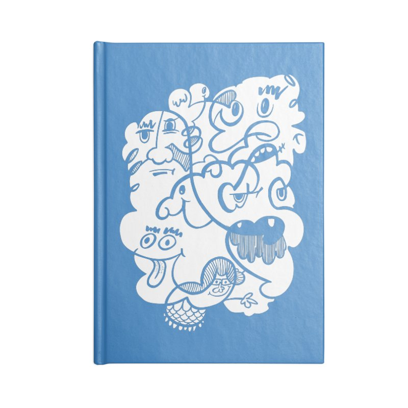 Just another doodle Accessories Lined Journal Notebook by Favati