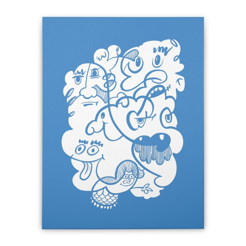 Just another doodle Home Stretched Canvas by Favati