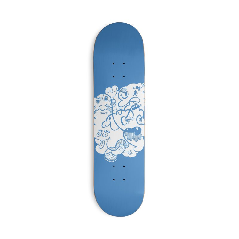 Just another doodle Accessories Skateboard by Favati