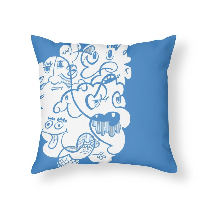 Just another doodle Home Throw Pillow by Favati