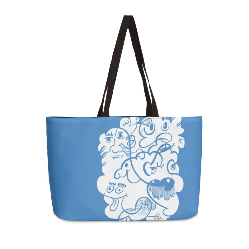 Just another doodle Accessories Weekender Bag Bag by Favati
