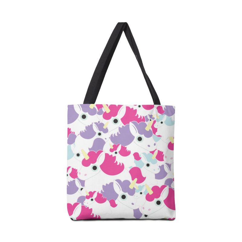 Fat Unicorn Accessories Bag by Fawn Products' Artist Shop