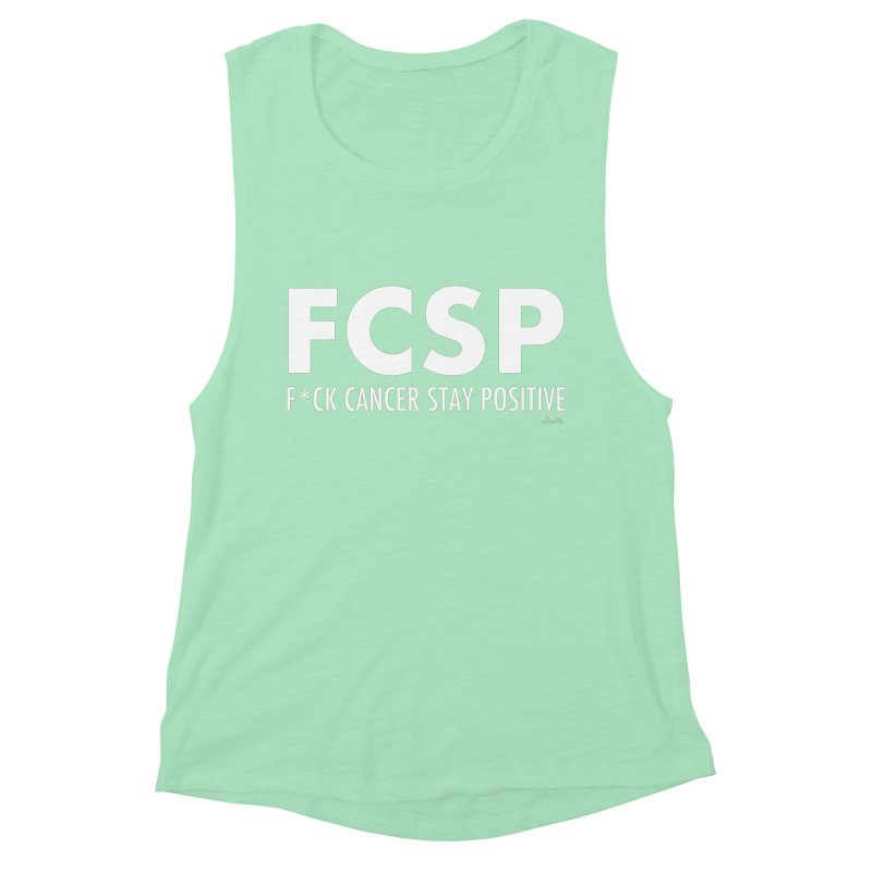 F* Cancer (White Font) Women's Tank by The FCSP Foundation Shop