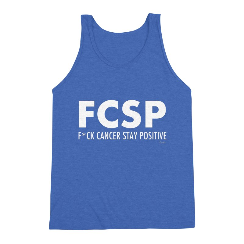 F* Cancer (White Font) Men's Tank by The FCSP Foundation Shop