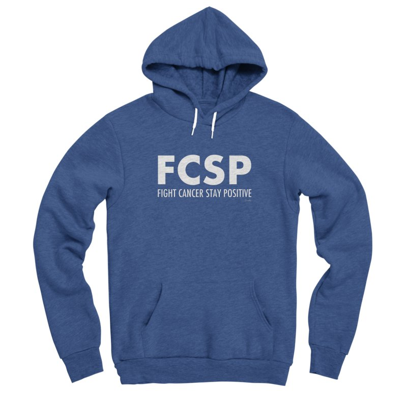 Fight Cancer (White Font) Men's Pullover Hoody by The FCSP Foundation Shop