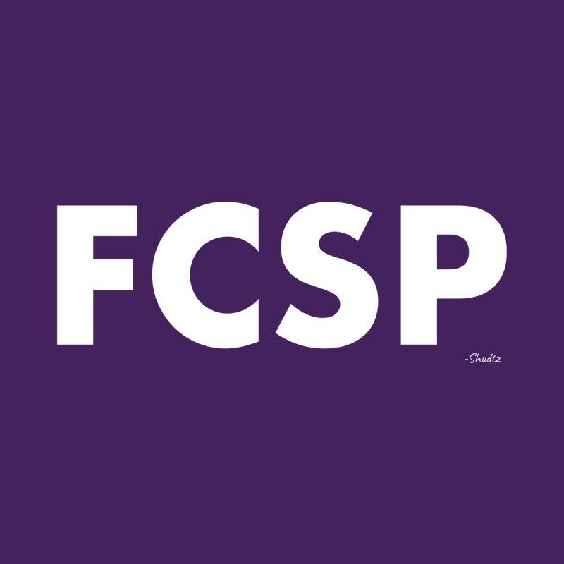 FCSP (White Font) Men's T-Shirt by The FCSP Foundation Shop