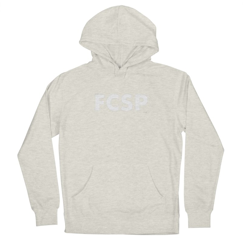 FCSP (White Font) Women's Pullover Hoody by The FCSP Foundation Shop