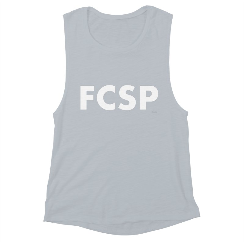 FCSP (White Font) Women's Tank by The FCSP Foundation Shop