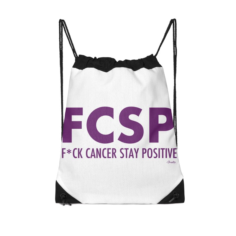 F* Cancer (Purple font) Accessories Bag by The FCSP Foundation Shop