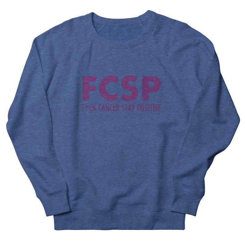 F* Cancer (Purple font) Men's Sweatshirt by The FCSP Foundation Shop