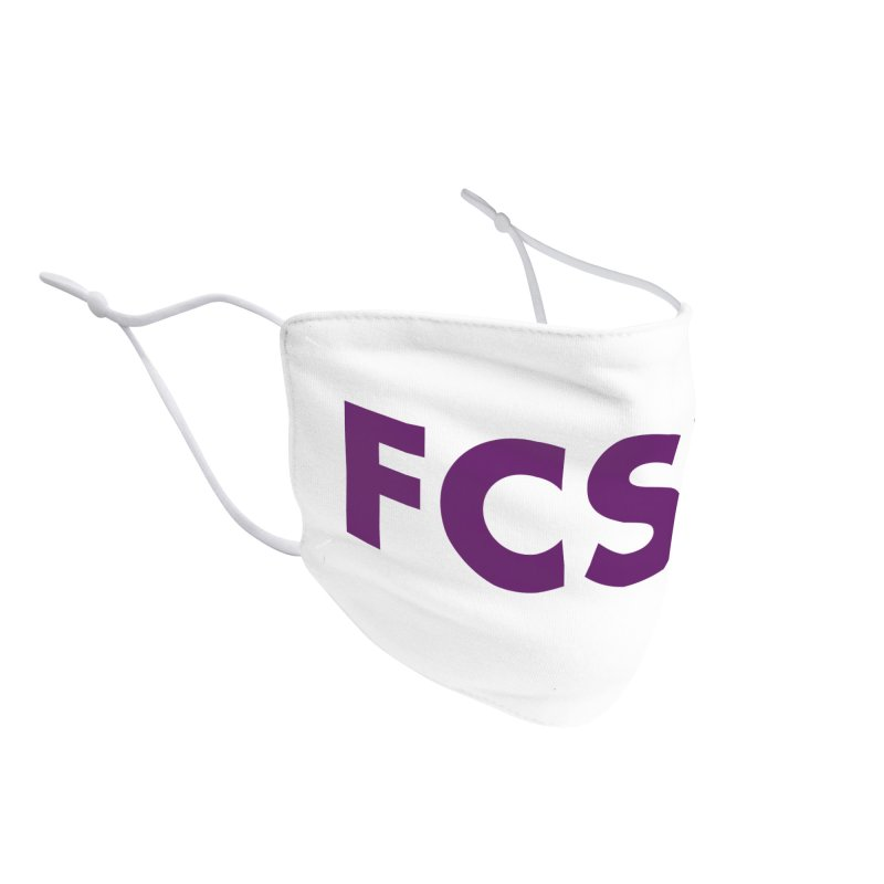 FCSP (Purple Font) Accessories Face Mask by The FCSP Foundation Shop