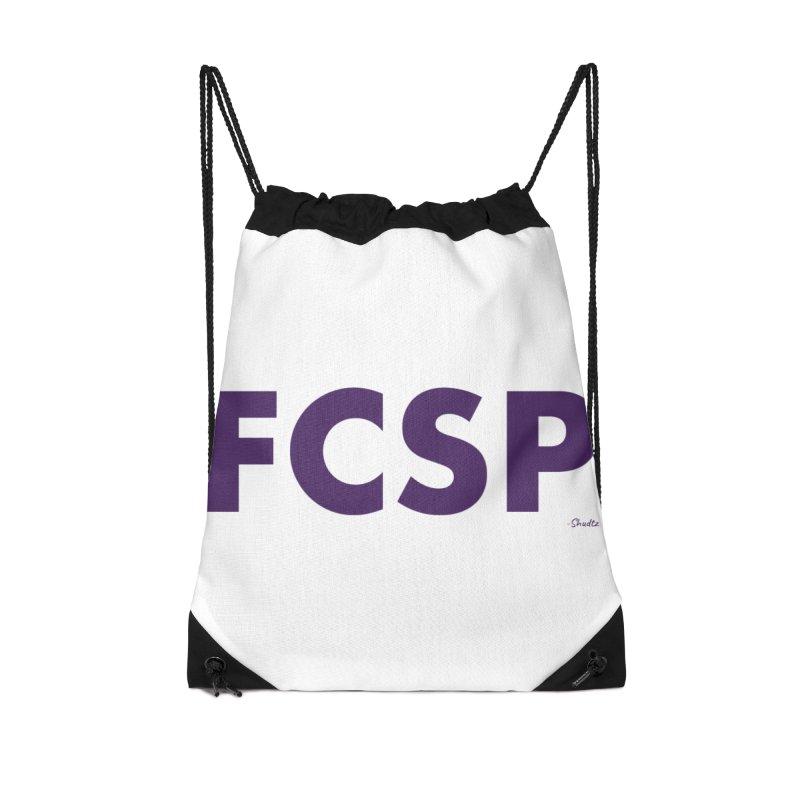 FCSP (Purple Font) Accessories Bag by The FCSP Foundation Shop