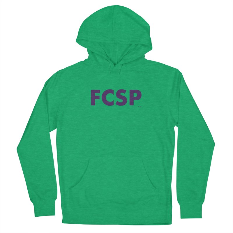 FCSP (Purple Font) Women's Pullover Hoody by The FCSP Foundation Shop