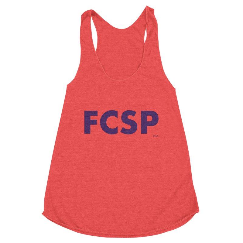 FCSP (Purple Font) Women's Tank by The FCSP Foundation Shop