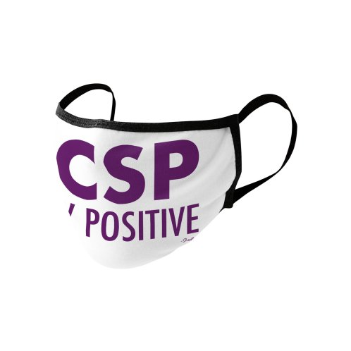 image for Stay Positive (Purple Font)