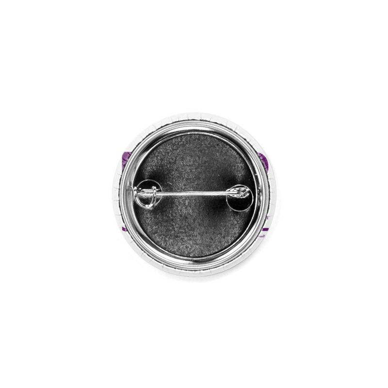 Stay Positive (Purple Font) Accessories Button by The FCSP Foundation Shop