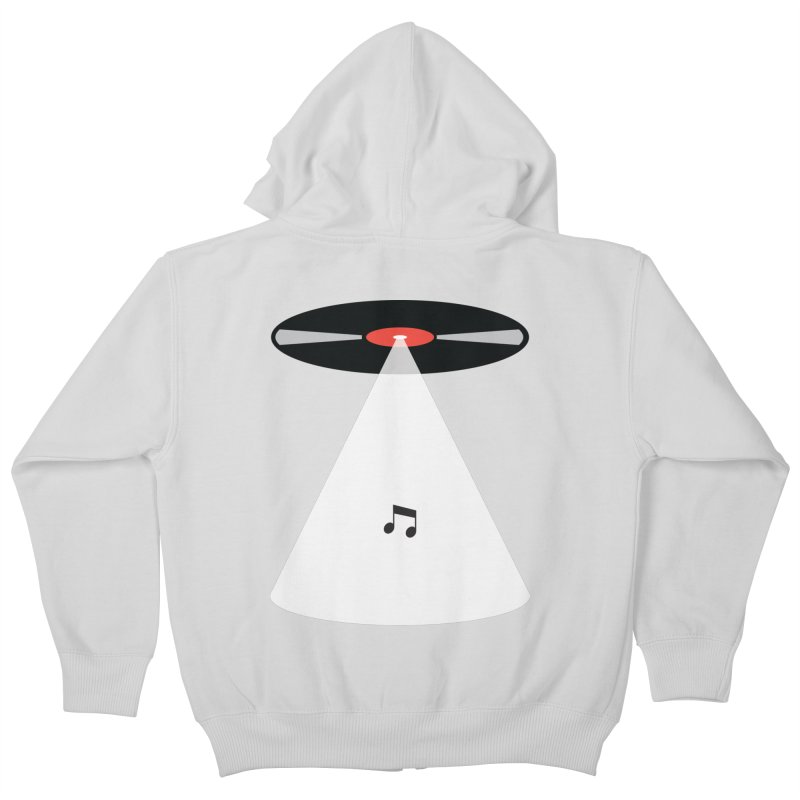 Abduction Kids Zip-Up Hoody by fdegrossi's Artist Shop