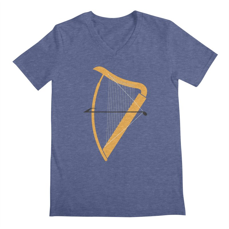 Archery Men's V-Neck by fdegrossi's Artist Shop