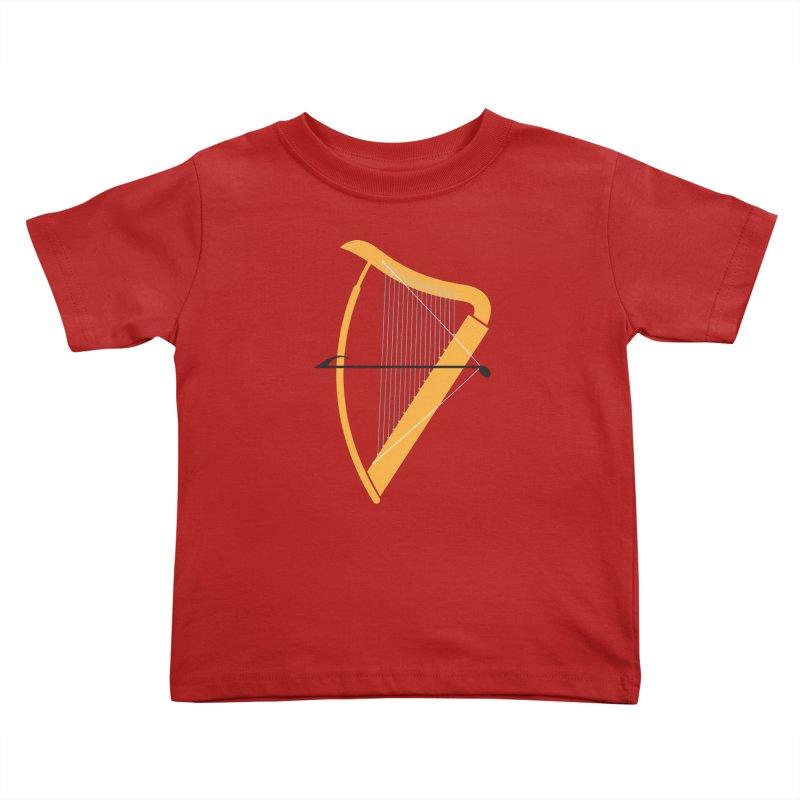 Archery Kids Toddler T-Shirt by fdegrossi's Artist Shop