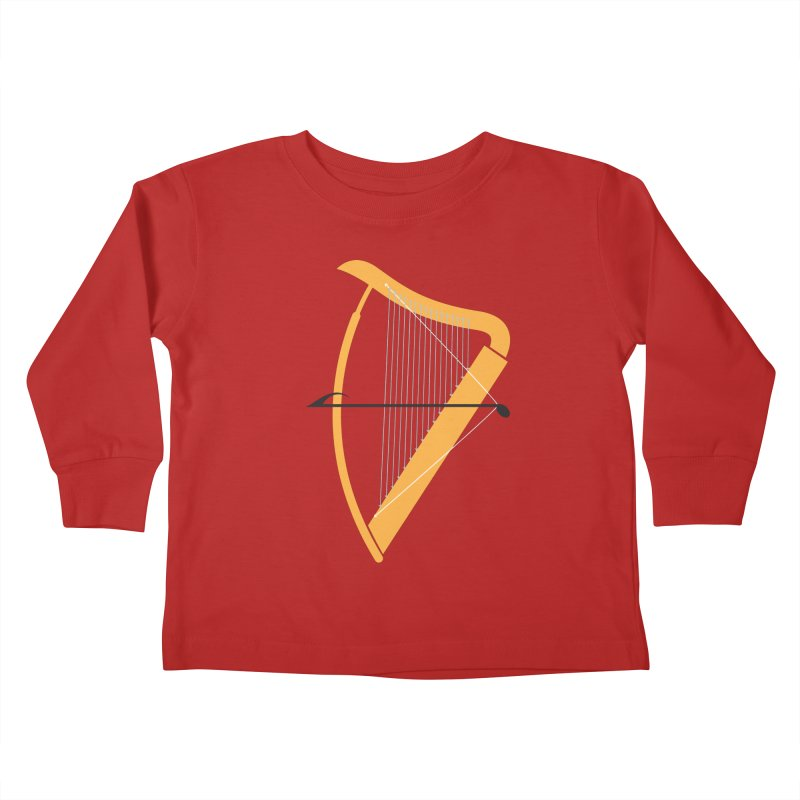 Archery Kids Toddler Longsleeve T-Shirt by fdegrossi's Artist Shop