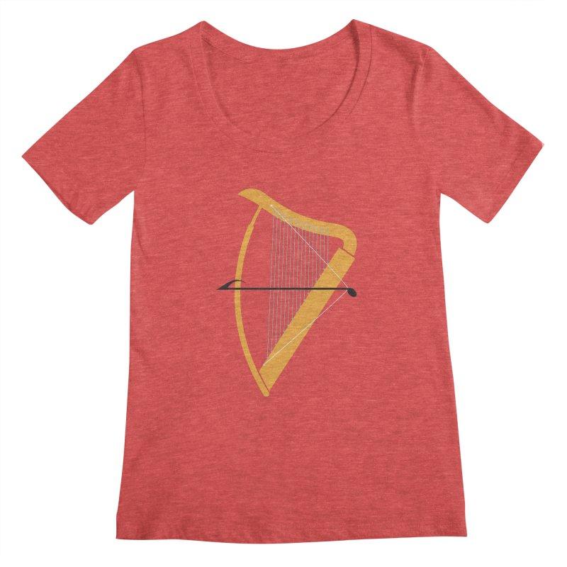 Archery Women's Scoopneck by fdegrossi's Artist Shop