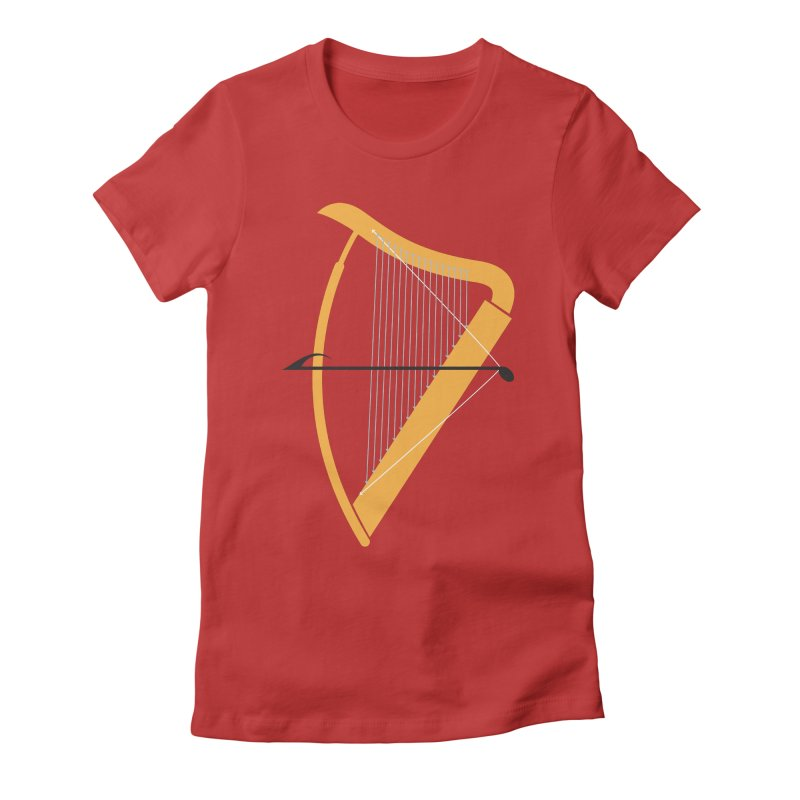 Archery Women's Fitted T-Shirt by fdegrossi's Artist Shop