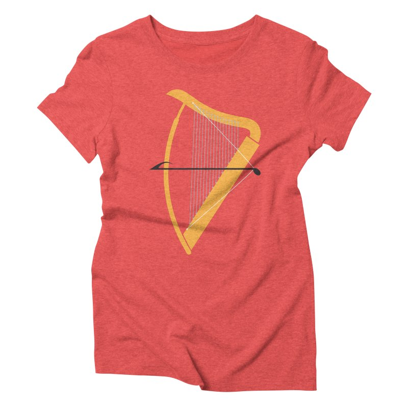 Archery Women's Triblend T-Shirt by fdegrossi's Artist Shop