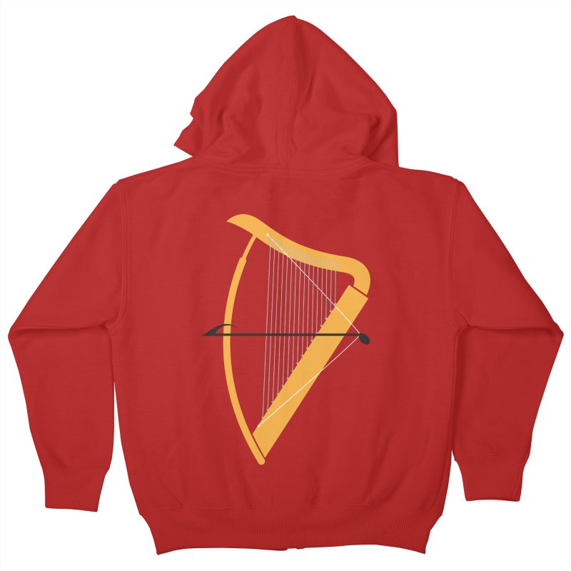Archery Kids Zip-Up Hoody by fdegrossi's Artist Shop