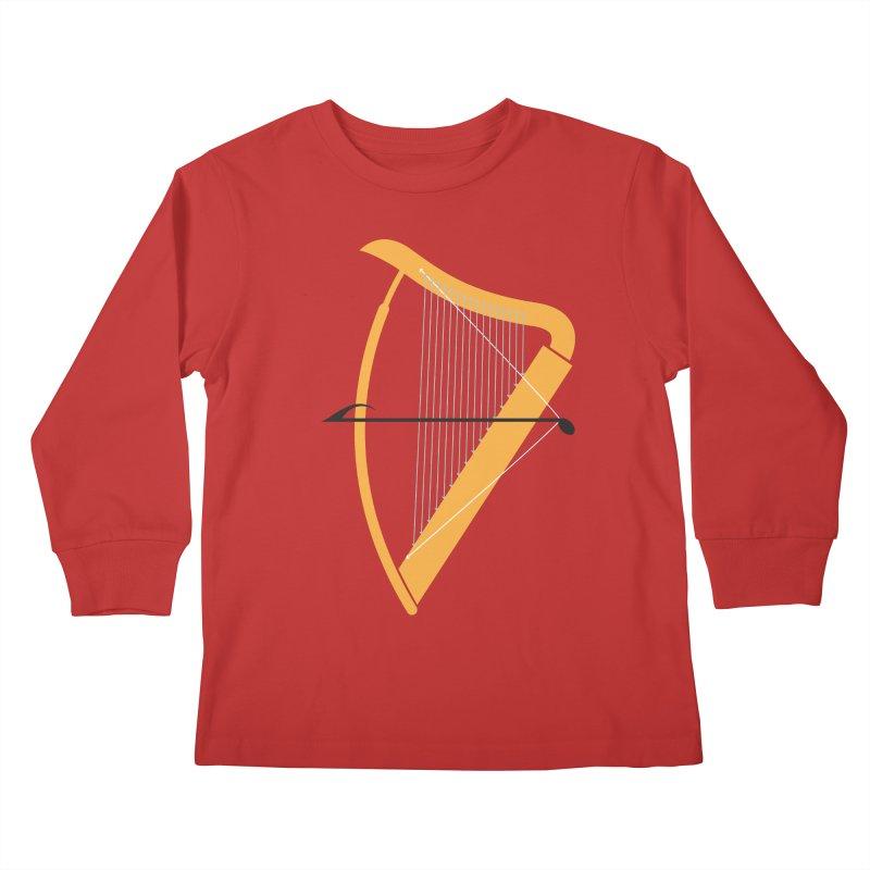 Archery Kids Longsleeve T-Shirt by fdegrossi's Artist Shop