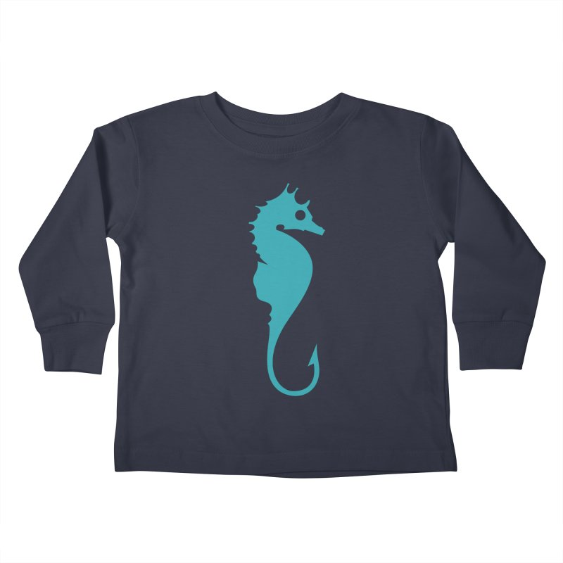 Bait Kids Toddler Longsleeve T-Shirt by fdegrossi's Artist Shop