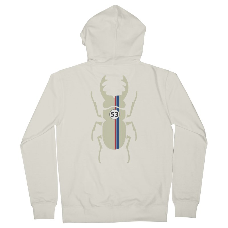 Beetle Women's Zip-Up Hoody by fdegrossi's Artist Shop