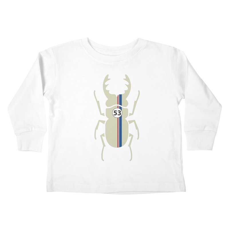 Beetle Kids Toddler Longsleeve T-Shirt by fdegrossi's Artist Shop