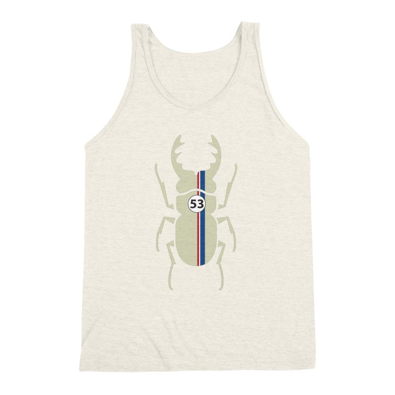 Beetle Men's Triblend Tank by fdegrossi's Artist Shop
