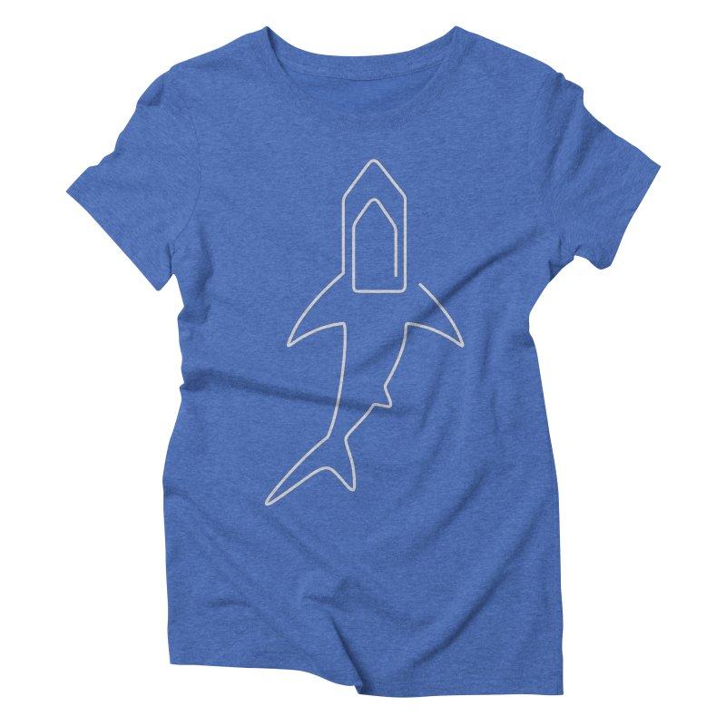 Clip Women's Triblend T-shirt by fdegrossi's Artist Shop