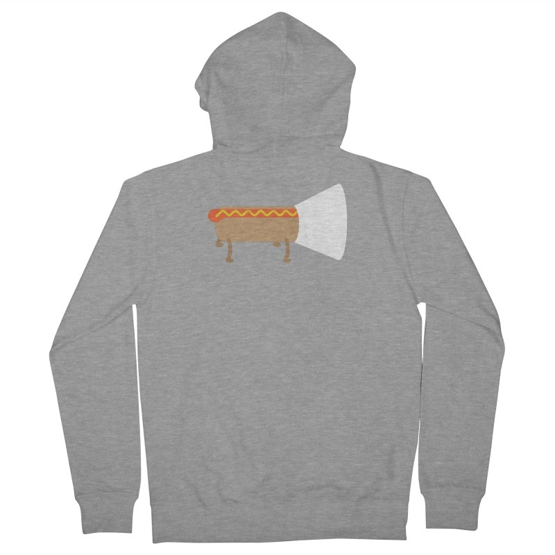 Dog Women's Zip-Up Hoody by fdegrossi's Artist Shop
