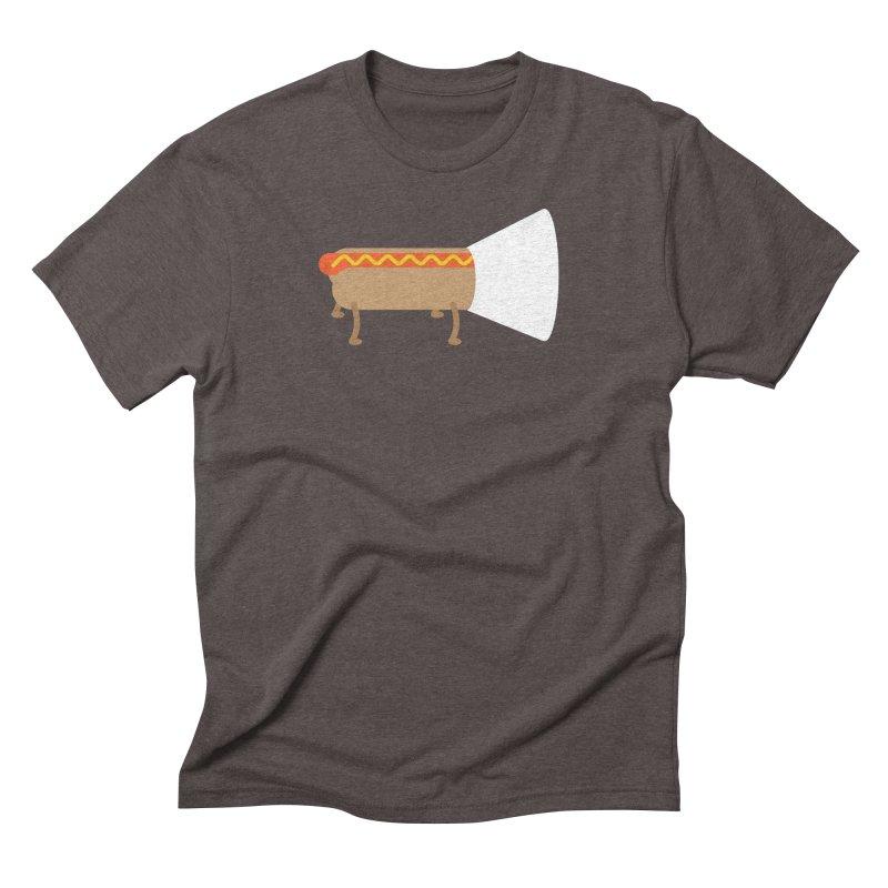 Dog Men's Triblend T-Shirt by fdegrossi's Artist Shop