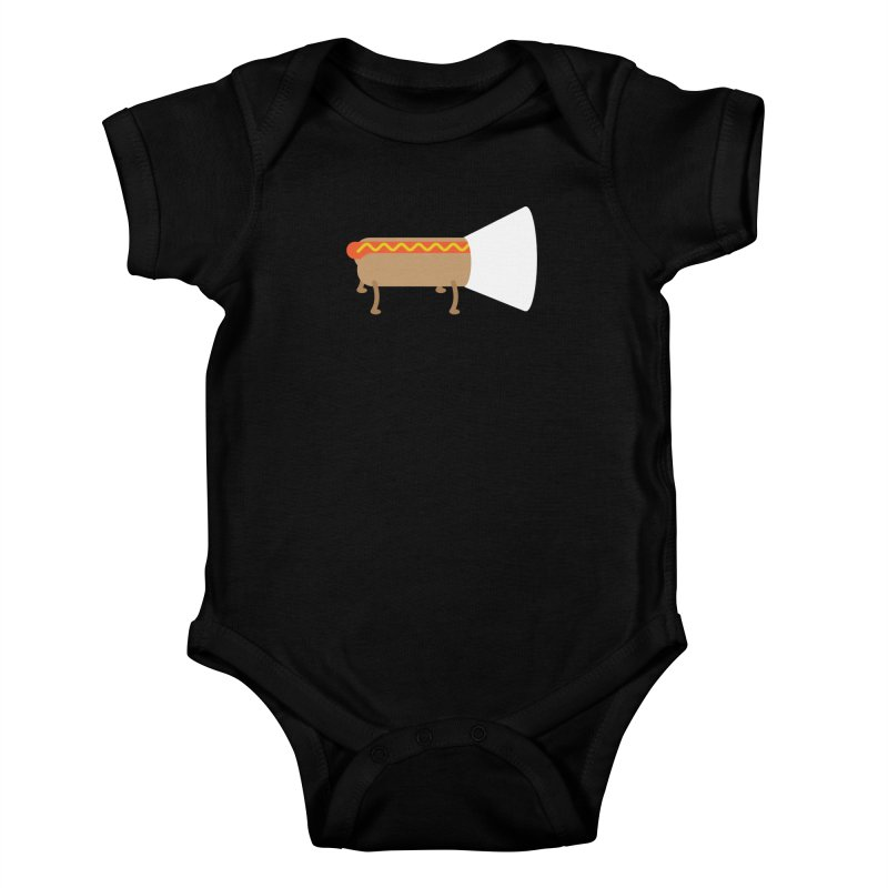 Dog Kids Baby Bodysuit by fdegrossi's Artist Shop