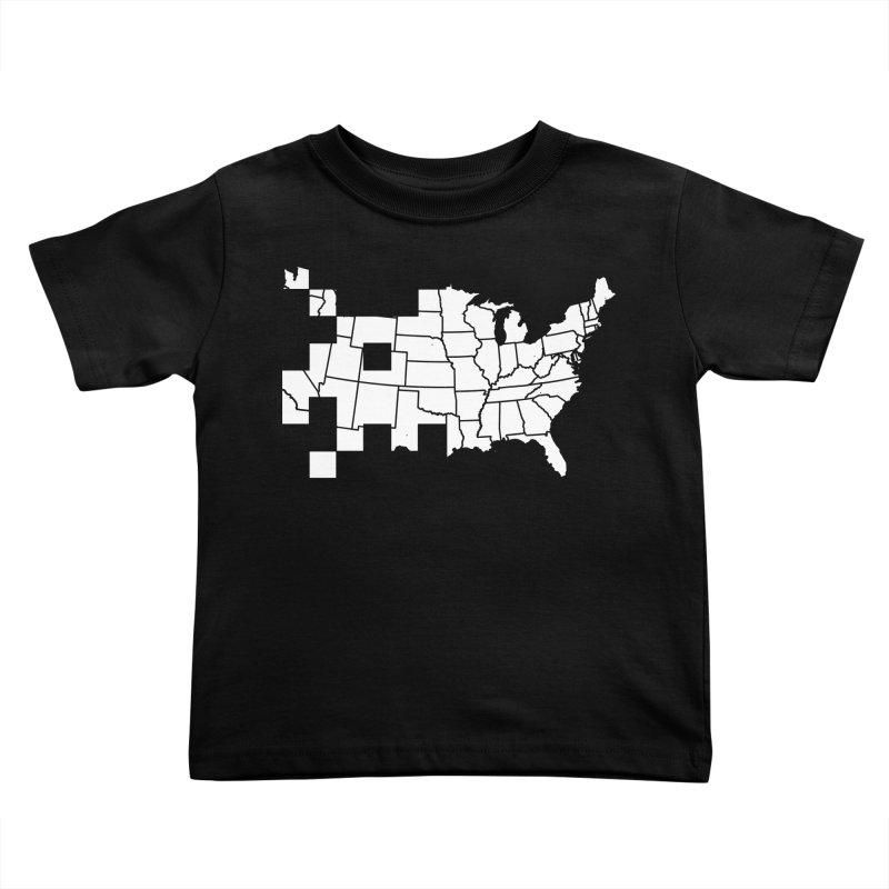 Invader Kids Toddler T-Shirt by fdegrossi's Artist Shop