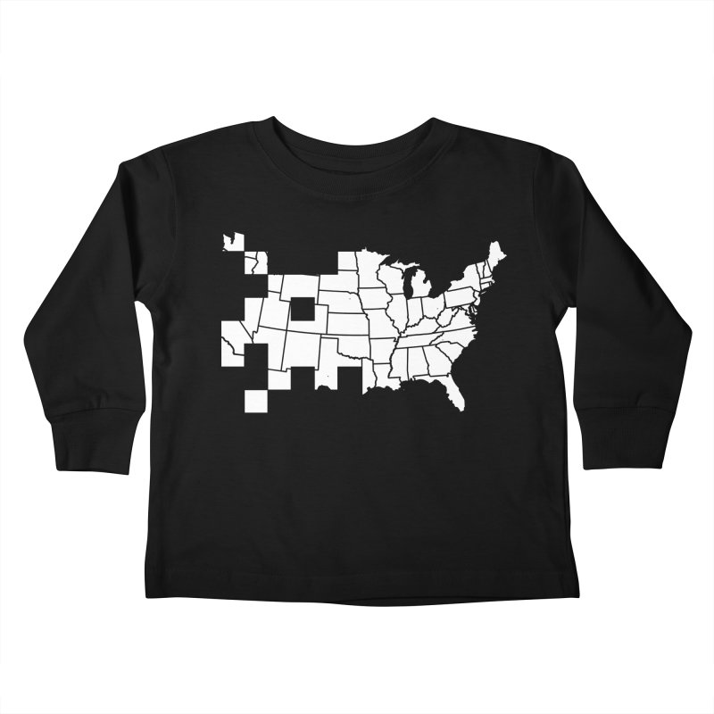 Invader Kids Toddler Longsleeve T-Shirt by fdegrossi's Artist Shop